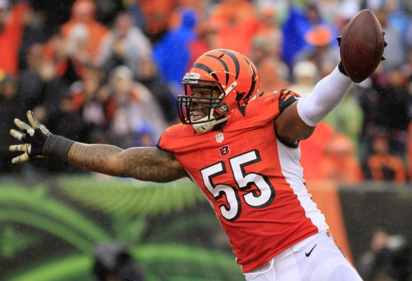 Vontaze Burfict cincinnati bengals 2015 super bowl favorite teams xlix images