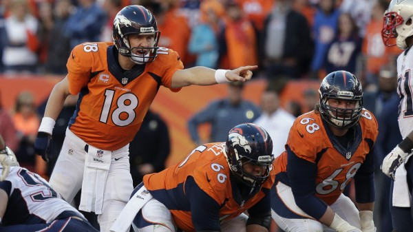 Peyton Manning denver broncos headed to super bowl 2015 images