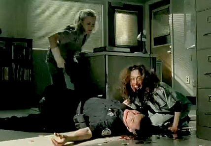 beth kills gorman with zombie walking dead slabtown images