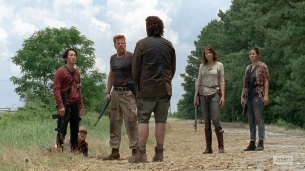 eugene comes clean on the walking dead self help to abraham images