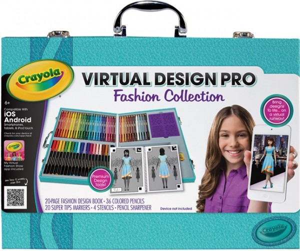 crayola virtual deisgn pro fashion collection review images 2014 hot holiday toys