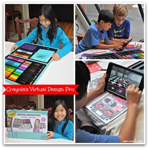 Crayola Virtual Design Pro Fashion Collection Review For That Creative Kid Movie Tv Tech Geeks