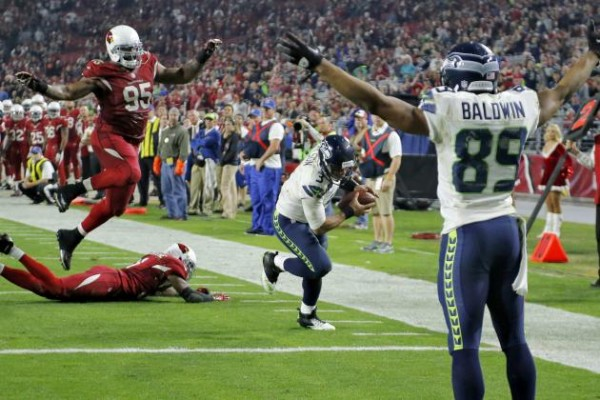 seattle seahawks dance at beating arizona cardinals 2014 nfl season images
