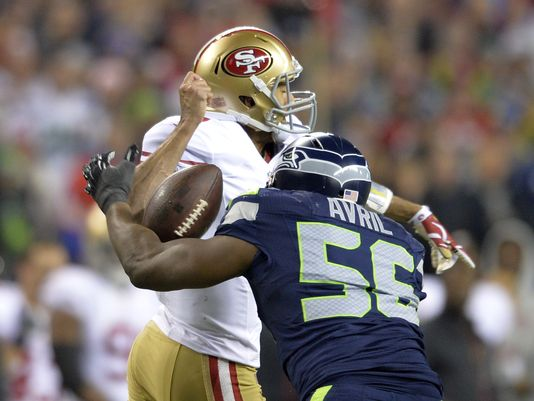 seattle seahawks kills san francisco 49ers nfl 2014 images