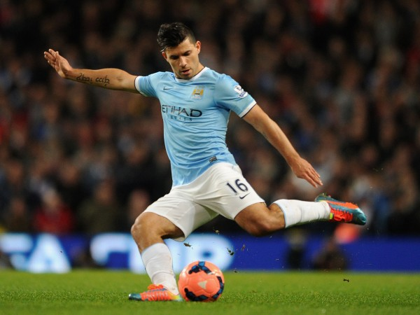 sergio kun aguero most overrated soccer player bulge images 2014