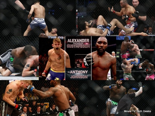 UFC Fight Night Stockholm Recap 2015 Johnson Mauls Gustafsson Quickly