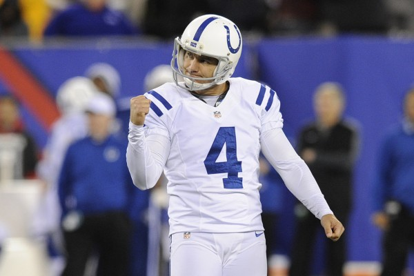 adam viniterri gets field goal for colts against bengals