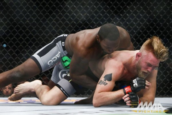 anthony johnson slams down alexander gustafsson ufc fight night stockholm 2015