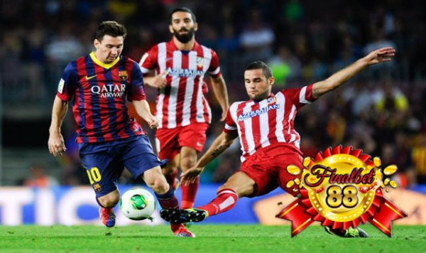 barcelona vs atletico madrid soccer men ball kick 2015 images
