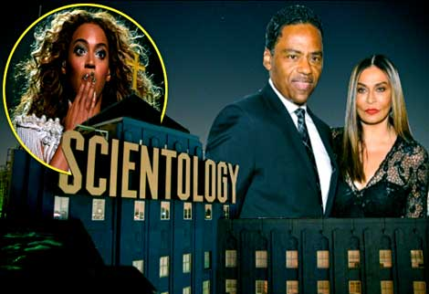 beyonce scientology scare for mother