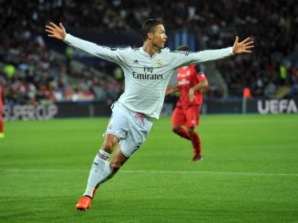 christiano ronaldo winning team 2015 images