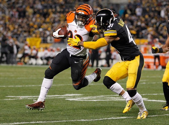 cincinnati bengals versus pittsburgh steelers