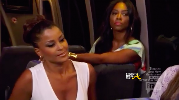 claudia kenya go after nene leakes on real housewives of atlanta puerto rico trip