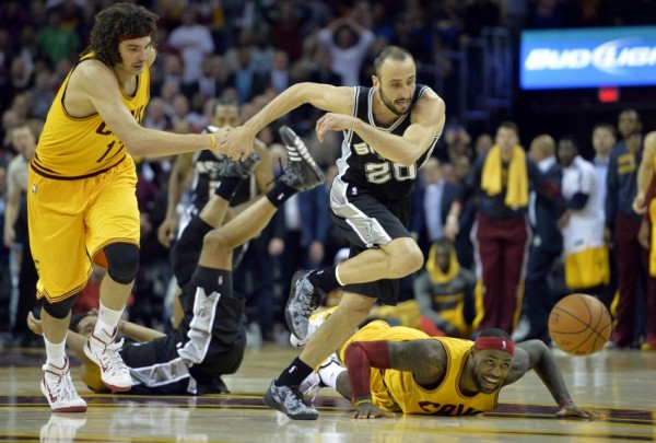 cleveland cavaliers lebron james vs san antonio spurs 2014 images