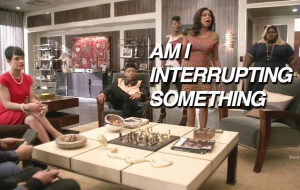 cookie interrupting on empire fox recap 2015 images