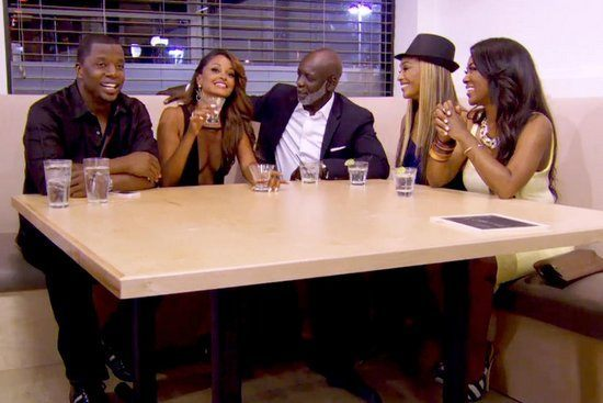 cynthia bailey sports one opening for real housewives of atlanta 2015 images