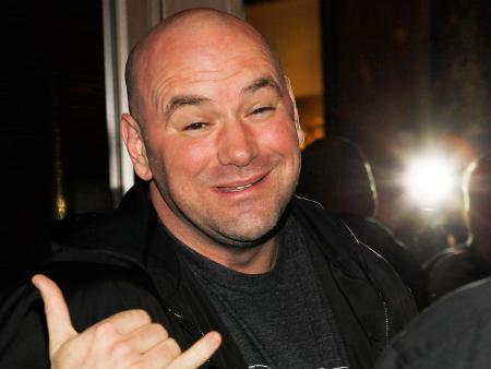 dana white ufc cocky man 2015
