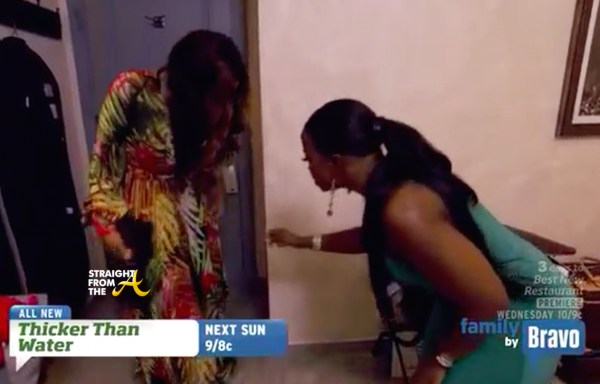 demetria chats with phaedra shade real housewives of atlanta 2015 ep 11