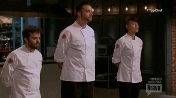 doug george melissa on bottom for top chef boston 2015 images