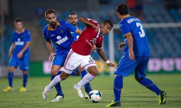getafe vs celta vigo alvaro vazquez shooting soccer 2015