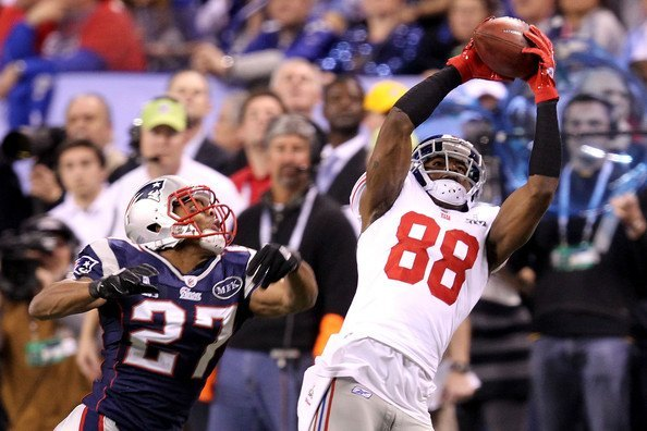hakeem nicks new york giants sideline catch most amazing moments in super bown xlvi history