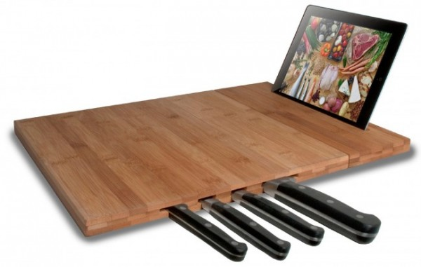 ipad stand with bamboo cutting board worst gadgets of 2014 images
