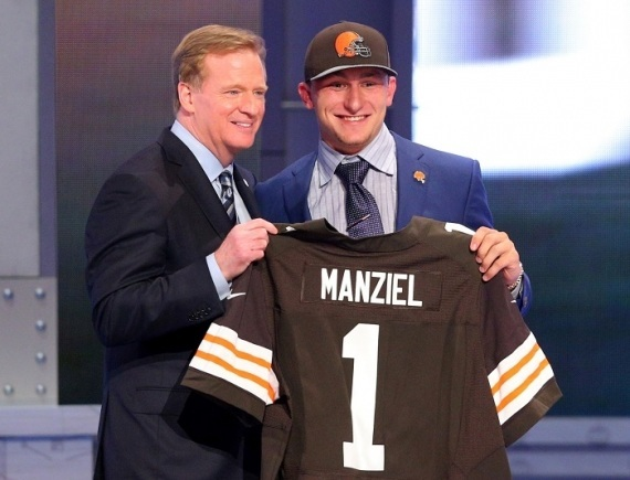 johnny manziel best selling nfl jersey 2014