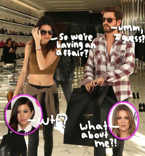khloe kardashian kills rumor of kendall affair with bulge scott disick 2015 images