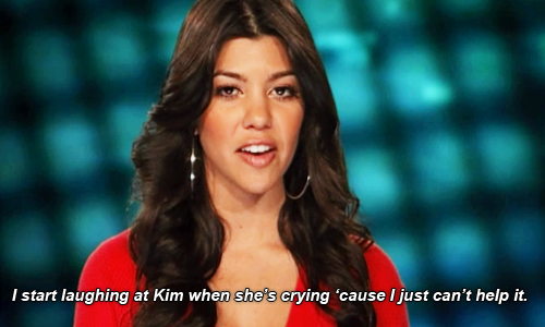 kourtney kardashian making fun of kim crying ugly season 10 images