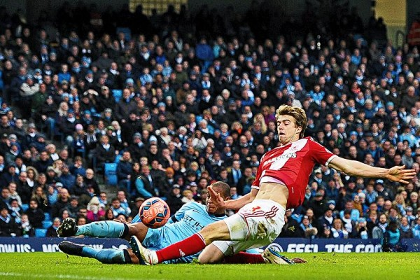 manchester city loses to middlesbrough fa cup fourth round 2015 images