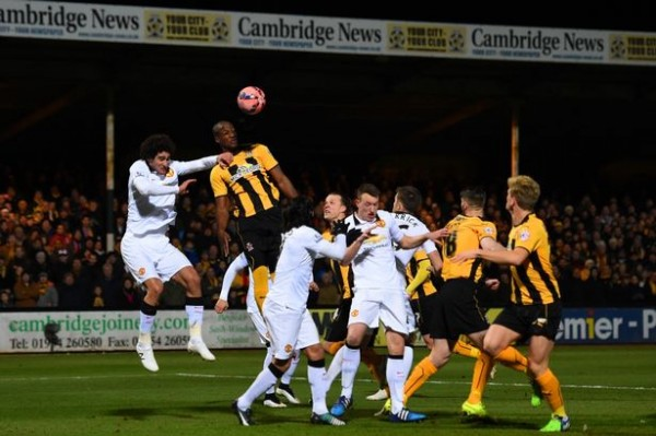 manchester united draws with cambridge united fa cup fourth round 2015 images