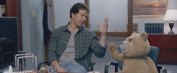 mark wahlberg fist pumping ted 2 movie images 2015