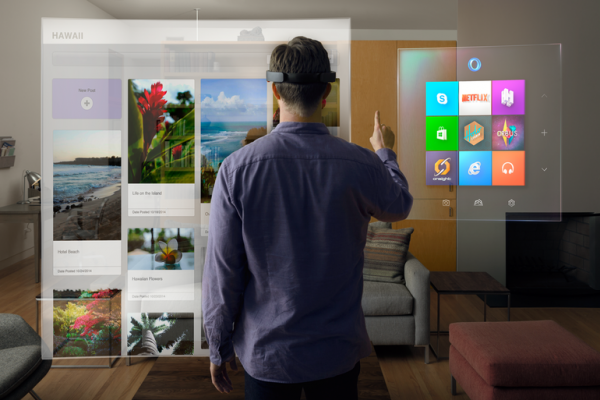 microsoft hololens appears to be real 2015