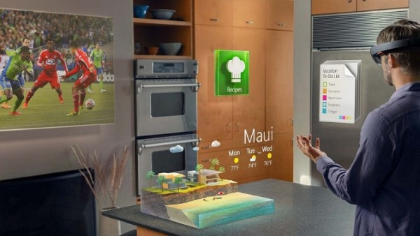 microsoft hololens brings virtual reality to life 2015
