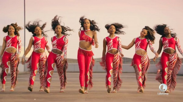 miss d and her bring it girls for lifetime dance 2015