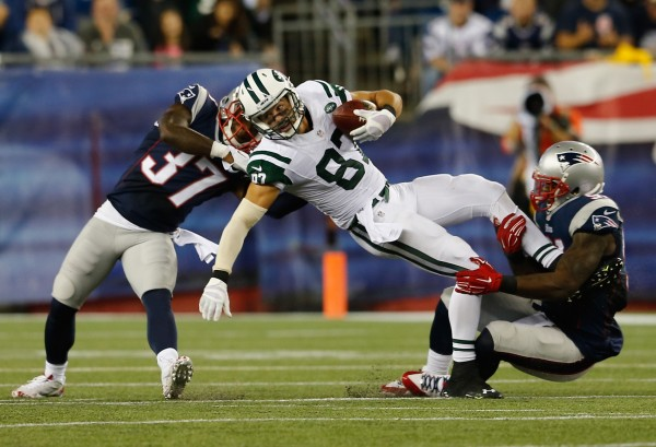 new england patirots versus new york jets 2014 nfl images recap