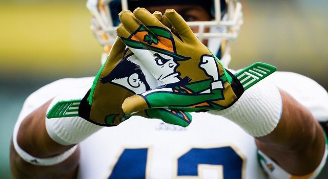 score notre dame game who is playing in the college football national championship