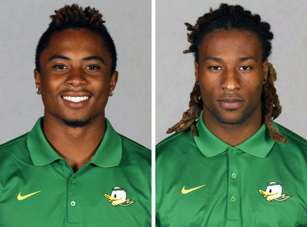 oregon ducks suspended darren carrington and ayele forde for smoking marijuana 2015 ncaa