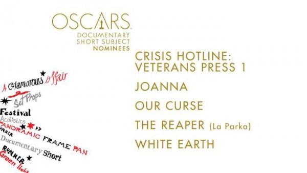 oscar noms for Documentary Short 2015