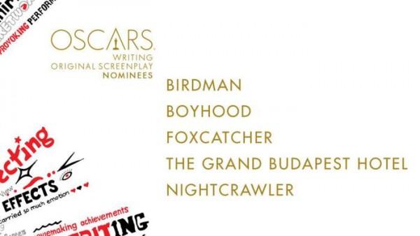 oscar noms for Original Screenplay 2015