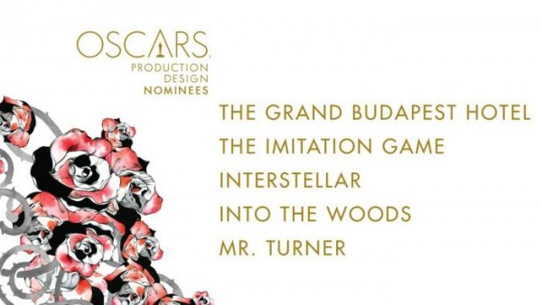 oscar noms for Production Design 2015