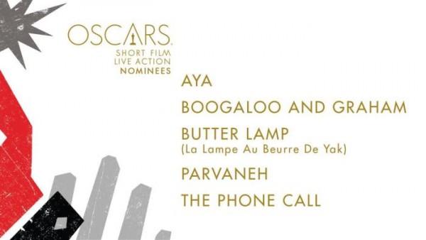 oscar noms for Short Film Live Action 2015