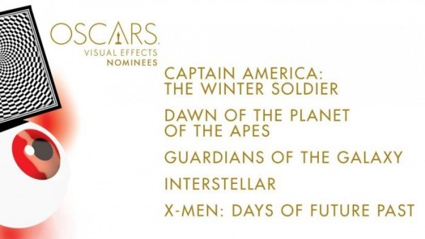 oscar noms for Visual Effects 2015