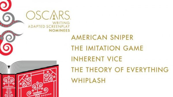oscar noms for adapted screenplay 2015