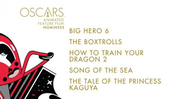 oscar noms for best animated feature 2015