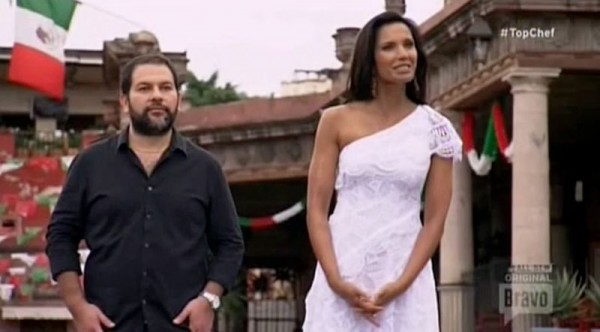 padma lakshmi with enrique olvera on top chef boston recap images 2015