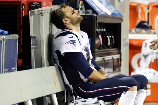 patriots lose to bills while tom brady sits out nfl 2015 images