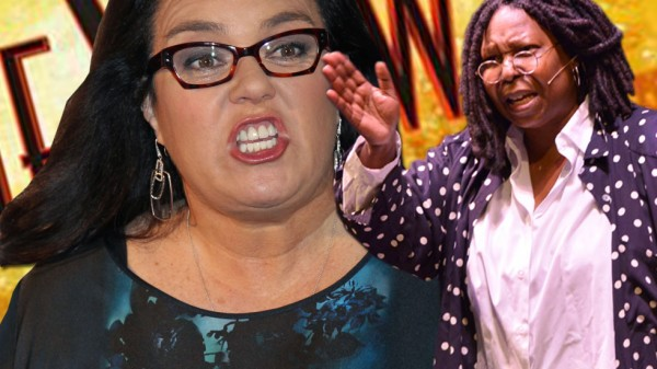 rosie odonnell fight with whoopi goldberg on the view abc 2014