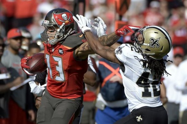 saints versus buccaneers 2015 nfl images playoffs