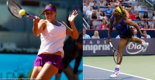 serena williams vs madison keys semi finals australian open 2015 images